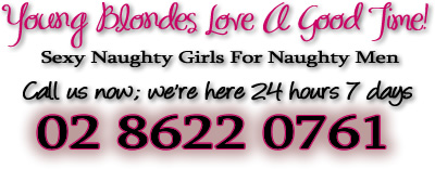 Call Young Blondes Sydney